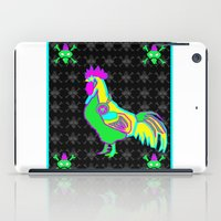 dubstep rooster iPad Case