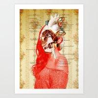 Lydias Black Lung Art Print