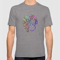 Land Sphere Mens Fitted Tee Tri-Grey SMALL