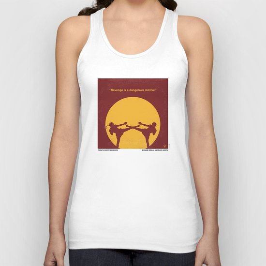 No178 My Kickboxer minimal movie poster Unisex Tank Top