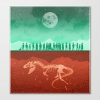 The Dead of Night Canvas Print