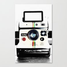 Shake It Like A Polaroid… Canvas Print