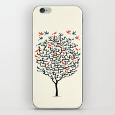Out On a Lark iPhone & iPod Skin