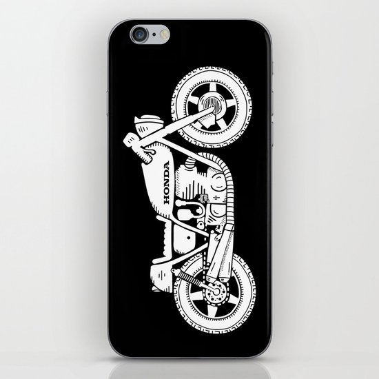 Honda CB750 - Café racer series #1 iPhone & iPod Skin