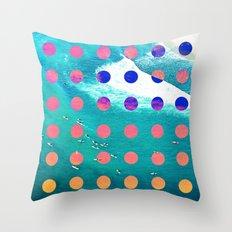 SURF SAFARI Throw Pillow