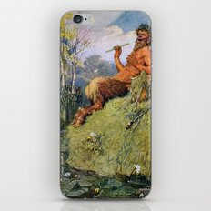 The Great God Pan by Norman Price iPhone & iPod Skin