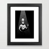 Manny Calavera Framed Art Print