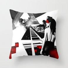 Mindblow Throw Pillow