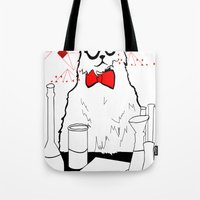 Chemistry Cat Tote Bag