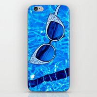 Paper Sunglasses iPhone & iPod Skin
