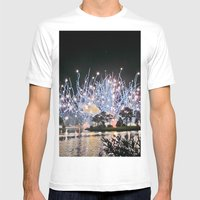 Firework Mens Fitted Tee White SMALL