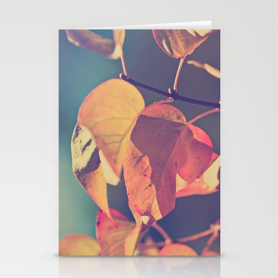 Color of the Leaves Stationery Card