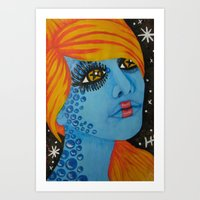 Out Of This World 1  Art Print