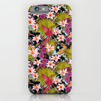 iPhone & iPod Case featuring tropical lilly by kociara