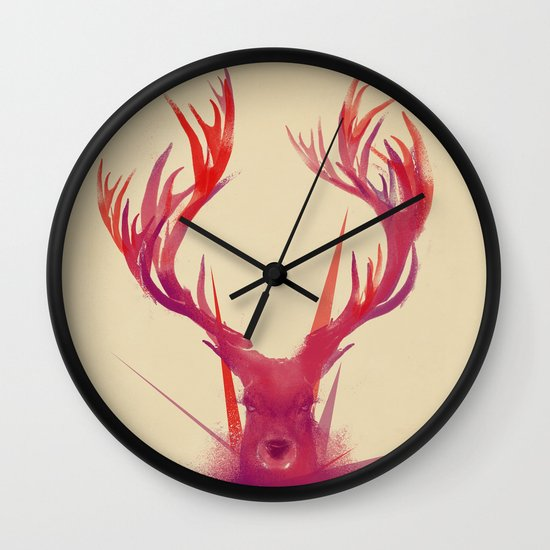 Points Wall Clock