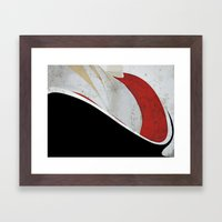 Backatcha Framed Art Print