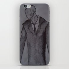 Man without a face. iPhone & iPod Skin