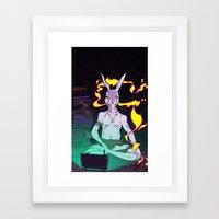 Hi-Speed Connection Framed Art Print