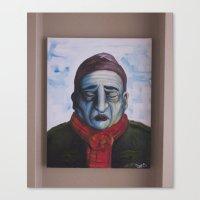 Acrylic On Canvas Painti… Canvas Print