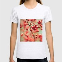 Crabapples Womens Fitted Tee Ash Grey SMALL