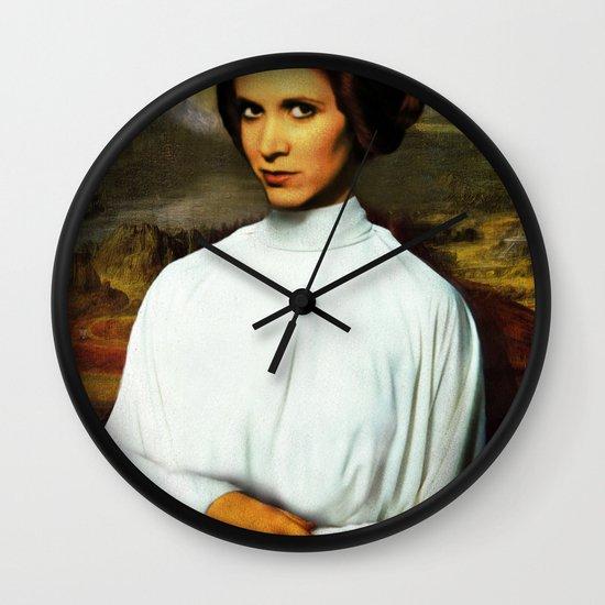 Mona Leia Wall Clock