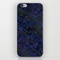 Tahitian Blue iPhone & iPod Skin