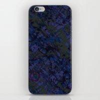 Tahitian Blue iPhone & iPod Skin