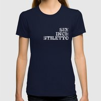Tee Womens Fitted Tee Navy SMALL