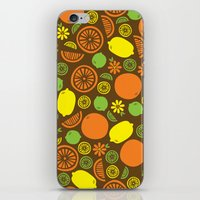 A Splash Of Citrus iPhone & iPod Skin
