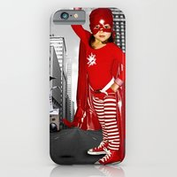 Candy Cane Girl iPhone 6 Slim Case
