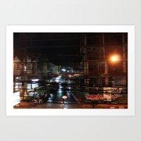 Cables II Art Print