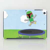 SW Kids - Boba Fett Jump iPad Case