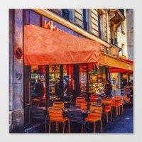 PARIS TRAVEL DIARY 15 Canvas Print