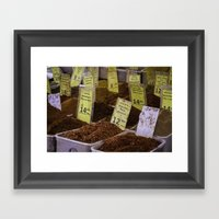 Spice Framed Art Print