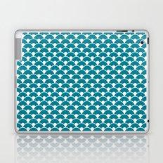 Dragon Scales Teal  Laptop & iPad Skin