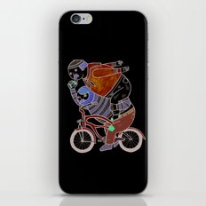 On how bicycle riders utilize team work in certain situations. iPhone & iPod Skin