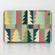 Christmas Trees iPad Case