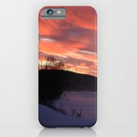 Wintry Sunset Over The P… iPhone 6 Slim Case