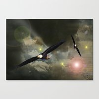 Independance Flight. Canvas Print