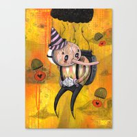 No Strings Attached Prin… Canvas Print