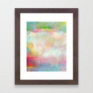 Untitled 20120222n (Clou… Framed Art Print