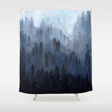 Mists No. 3 Shower Curtain