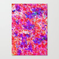FLORAL SUNSET Canvas Print