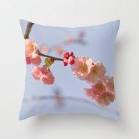 Japanese Detail Throw Pillow