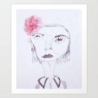Cameo #8 Art Print