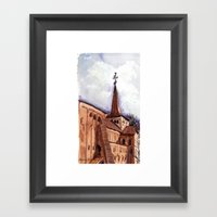 The First Good Day In Sp… Framed Art Print