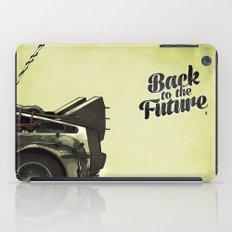 Back to the future iPad Case