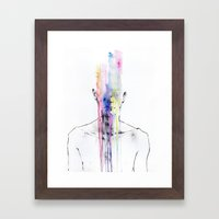 All My Art Is On You But… Framed Art Print