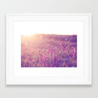 World Sun Framed Art Print