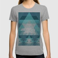 Polar Womens Fitted Tee Athletic Grey SMALL
